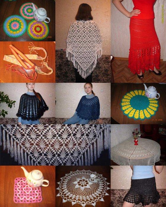 Вышивка крестиком на мебели 99